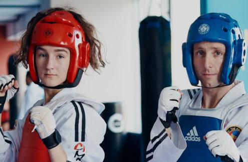 taekwondo-sparring